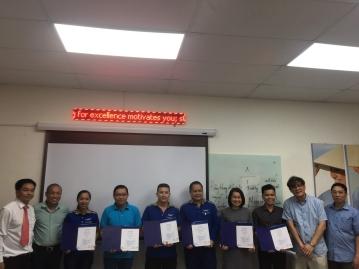 Một phút làm Tổng giám đốc - Đào tạo Kaizen 5S Tập đoàn Messer Việt Nam